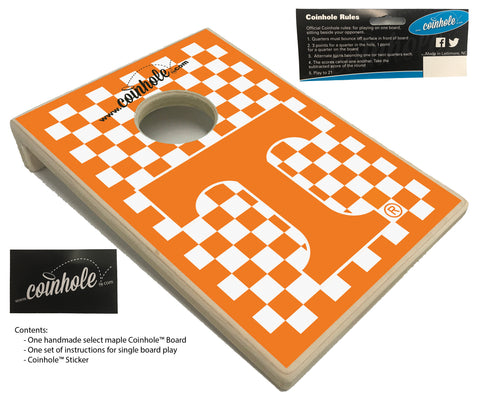 University of Tennessee at Knoxville Coinhole™ Board