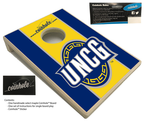 University of North Carolina Greensboro Coinhole™ Board