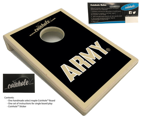 US Military Academy ARMY Coinhole™ Board