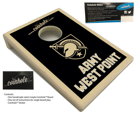 US Military Academy West Point Coinhole™ Board