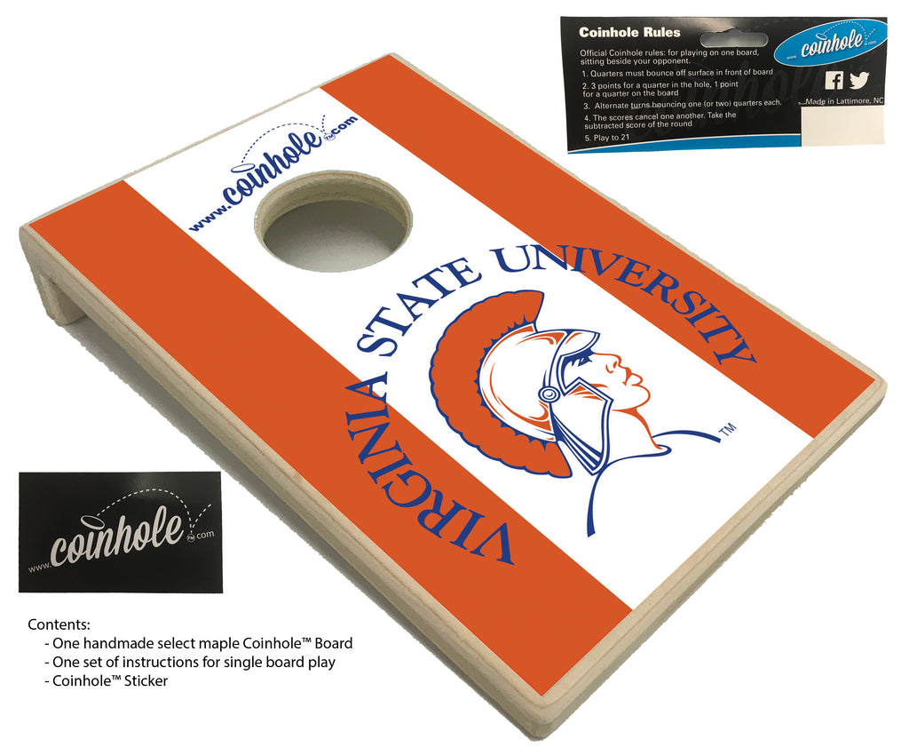 Virginia State Coinhole™ Board