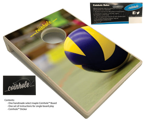 Volleyball Coinhole™ Board