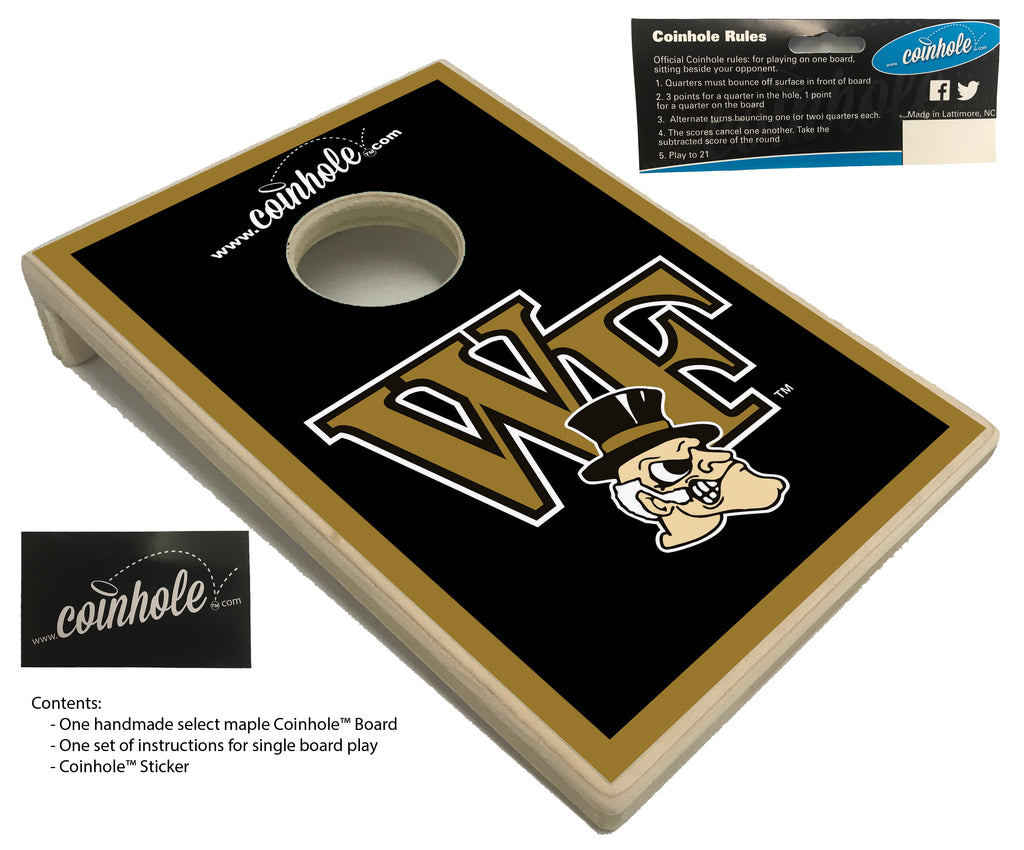 Wake Forest Coinhole™ Board