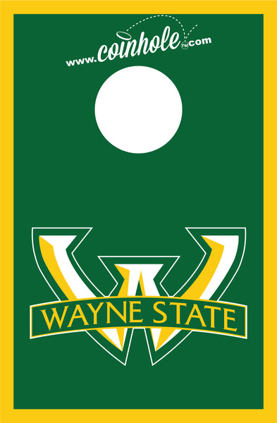 Wayne State University Coinhole™ Game Set