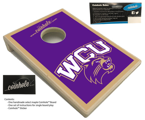 Western Carolina University Coinhole™ Board