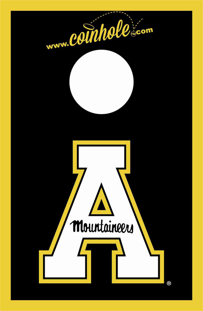 Appalachian State University Coinhole™ Board - Officially Licensed