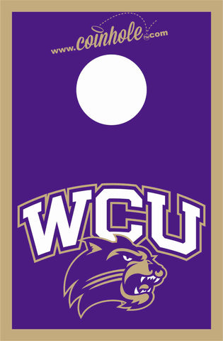 Western Carolina University Coinhole™ Board - Officially Licensed