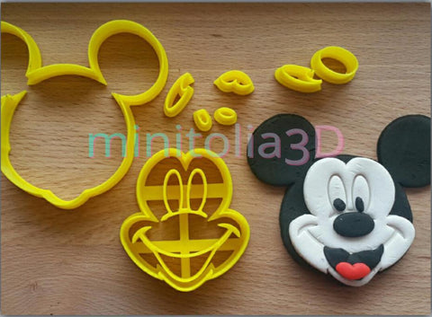 Mickey Mouse Yüz Seti -01