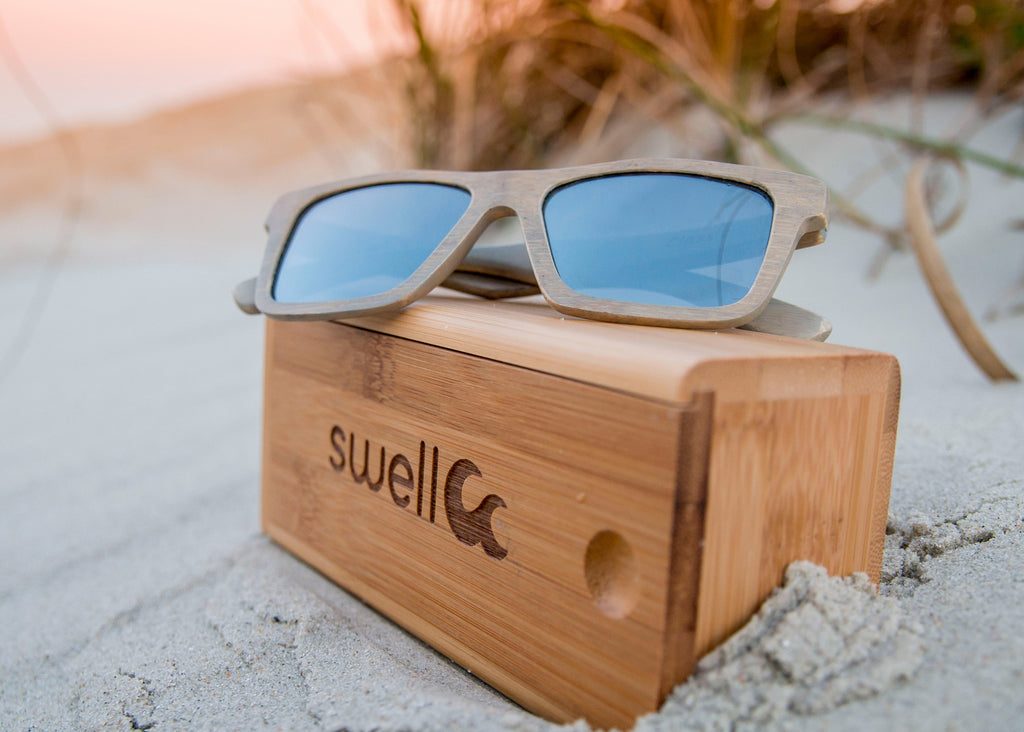 The Benefits of Wood Sunglass Frames vs. Plastic Frames