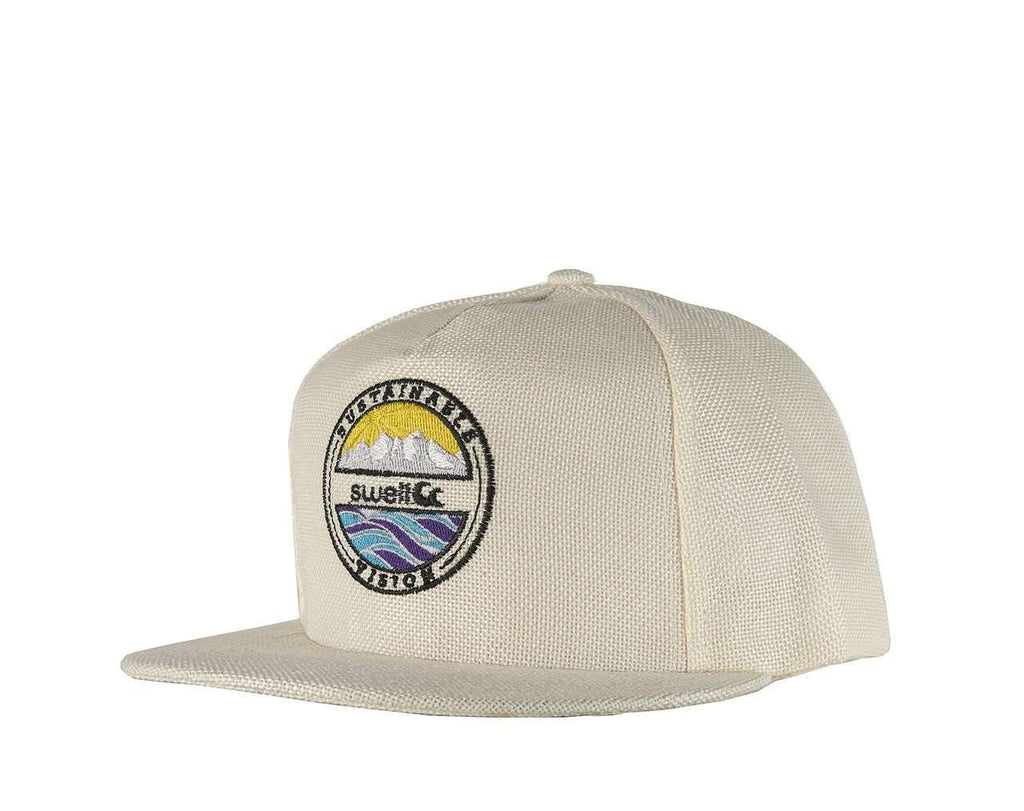 Swell 5 Panel Natural Hemp Hat - SwellVision