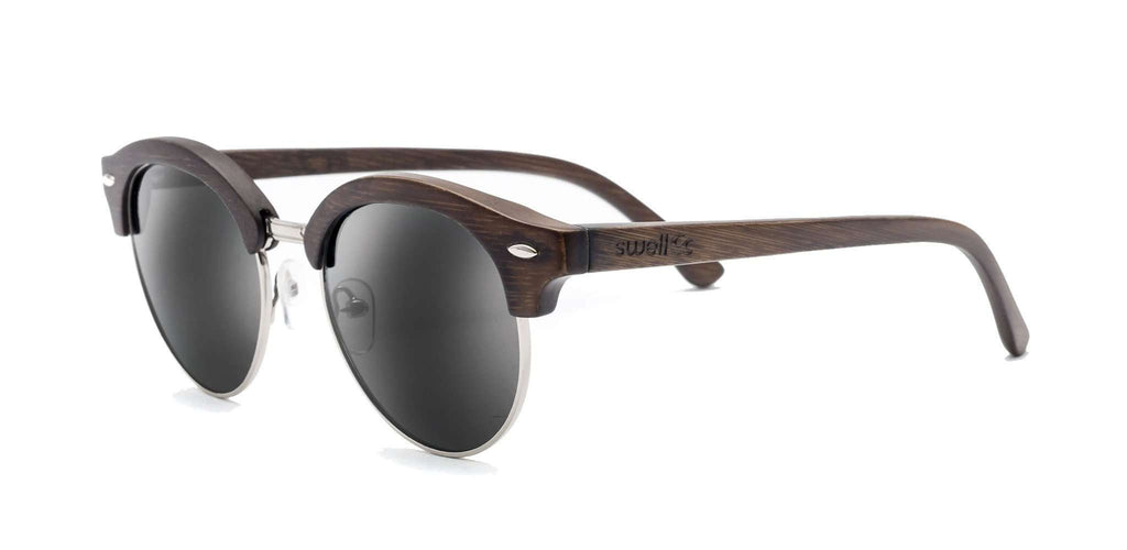 Bella Brown CR39 Polarized Bamboo Sunglasses - SwellVision