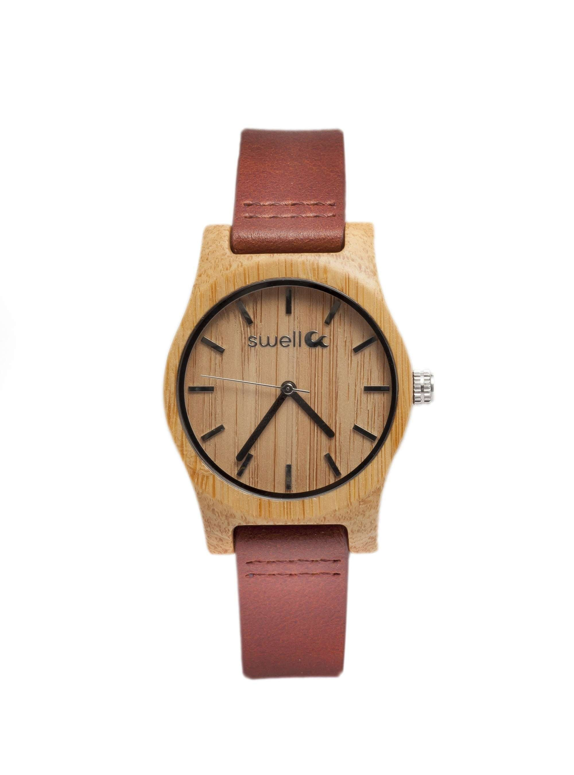 natural wooden watch products carpenter upt front co bamboo fixed wrist teak all analog watches