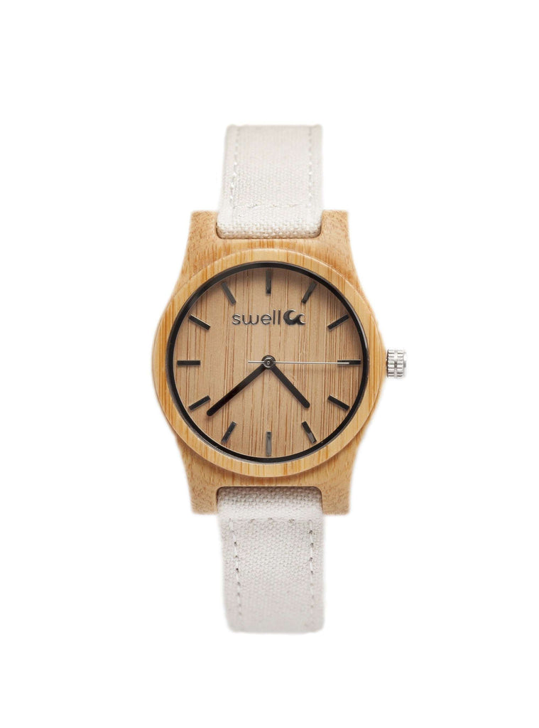 The Sand Dollar Bamboo Watch - SwellVision
