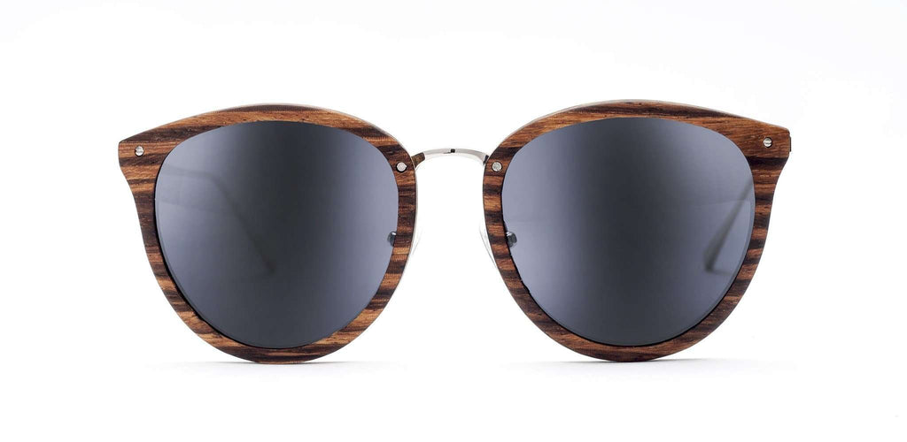 Lia CR39 Polarized Bamboo Sunglasses - SwellVision