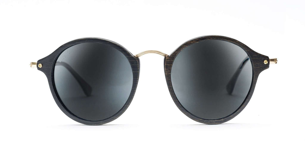 CoCo Black CR39 Polarized Bamboo Sunglasses - SwellVision