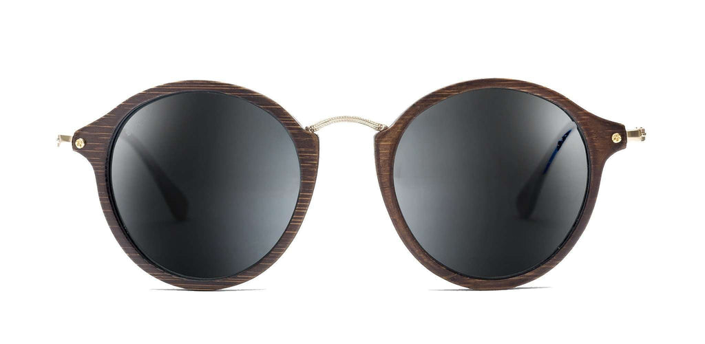 CoCo Brown CR39 Polarized Bamboo Sunglasses - SwellVision