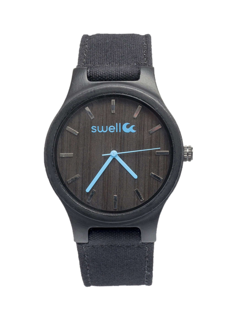 The Backpacker Obsidian Watch