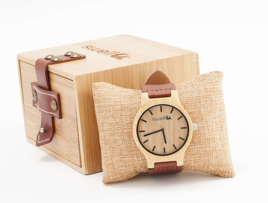 The Cowboy Bamboo Watch - SwellVision