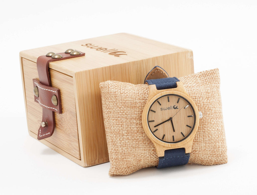 The Backpacker Ocean Bamboo Watch - SwellVision