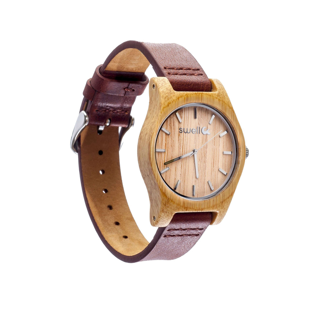 The Cowgirl Bamboo Watch - SwellVision
