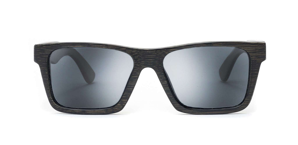 Classic Black Polarized Bamboo Sunglasses - SwellVision