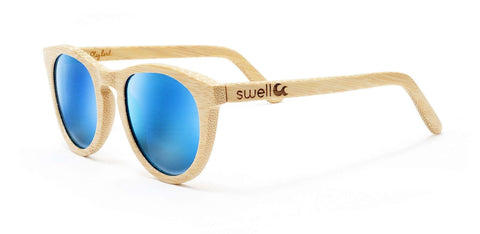 Alani Natural Polarized Bamboo Sunglasses - SwellVision