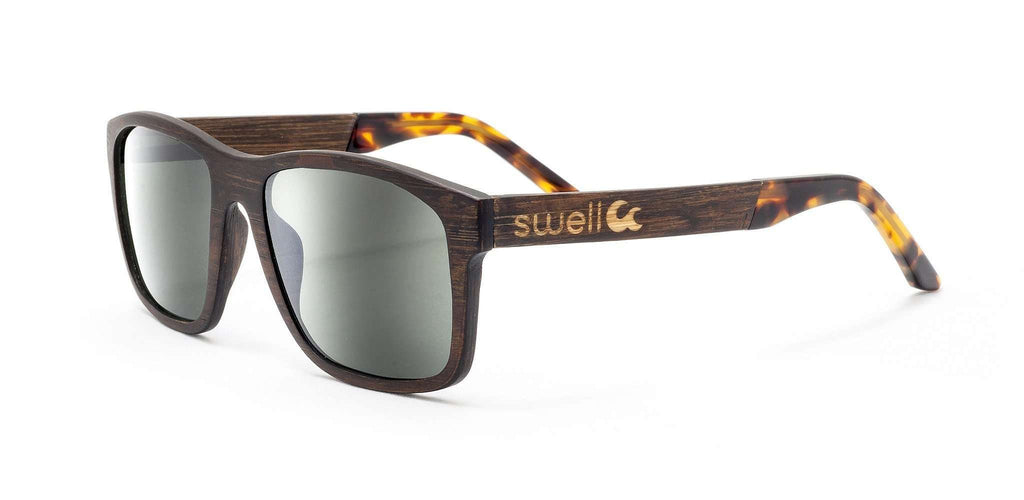 Amerigo 2.0 CR39 Polarized Bamboo Sunglasses - SwellVision