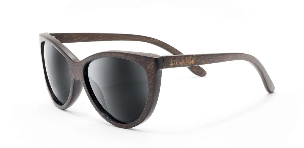 Capri Polarized Bamboo Sunglasses - SwellVision