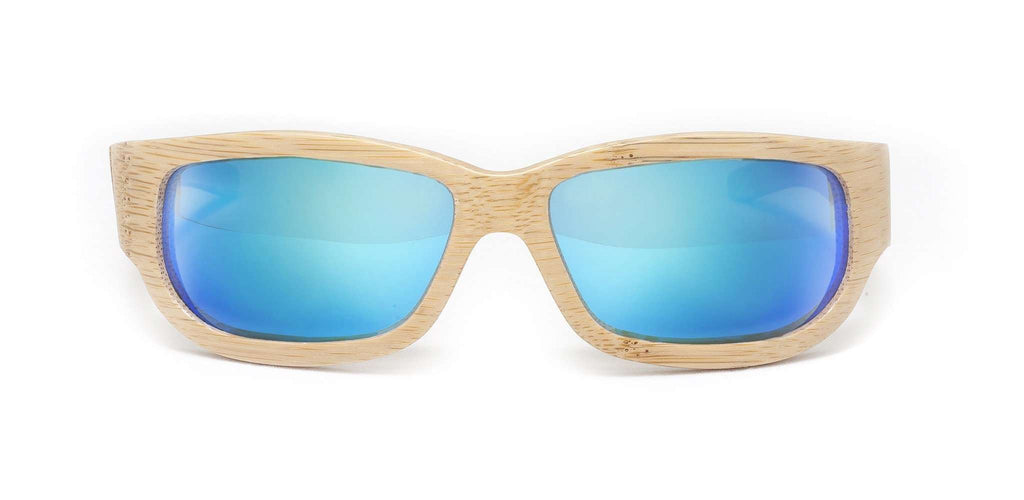 Sportsman Natural Polarized Bamboo Sunglasses - SwellVision