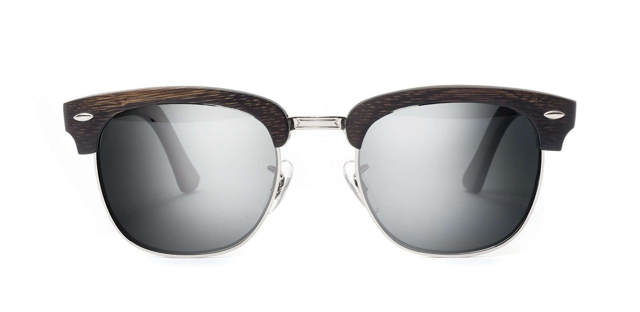 Atticus CR39 Polarized Bamboo Sunglasses - SwellVision