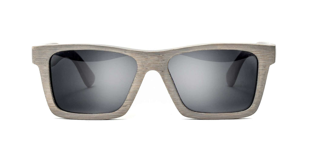 Classic Platinum Polarized Bamboo Sunglasses - SwellVision
