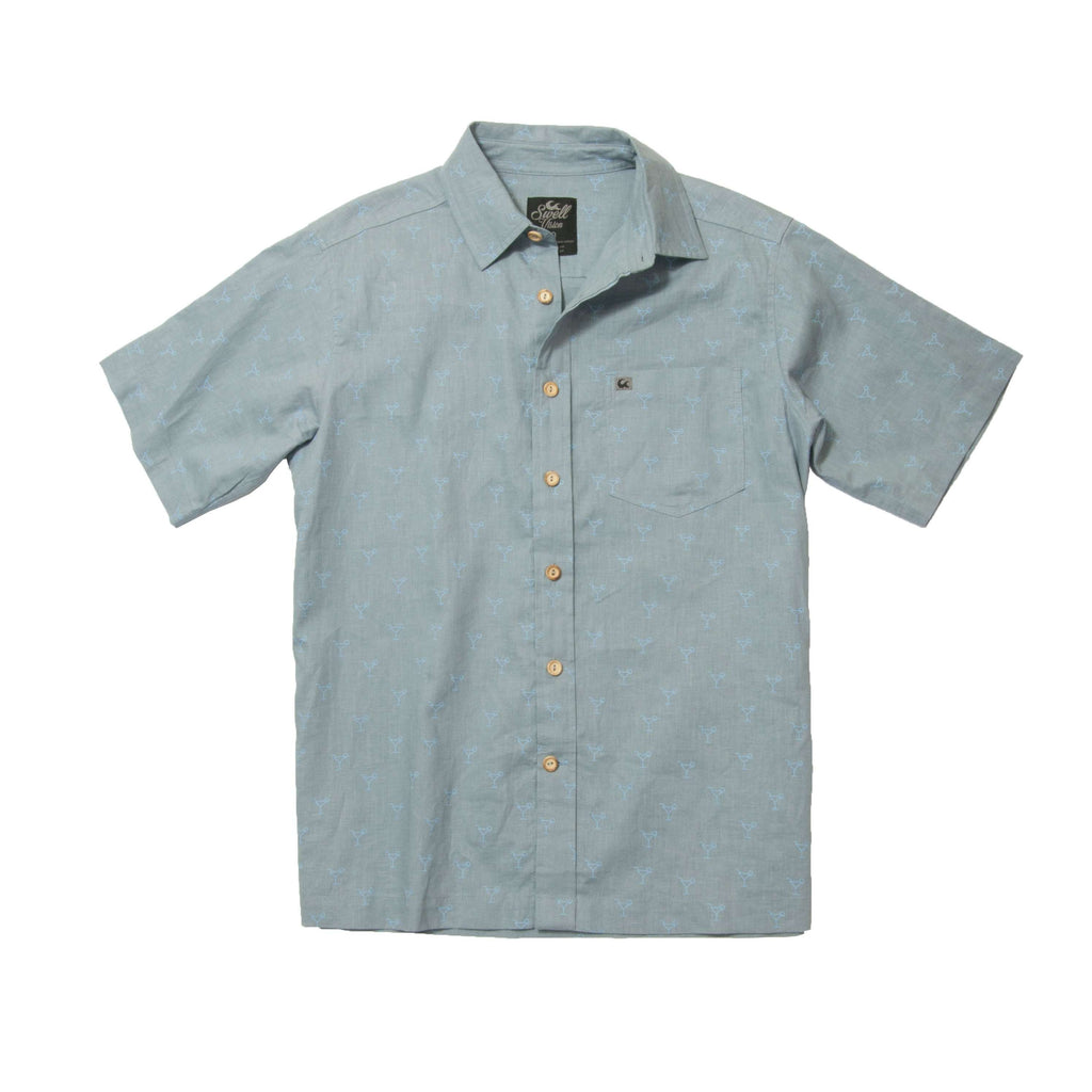 Sequoia Men's Hemp/Organic Cotton Button Down Shirt - SwellVision
