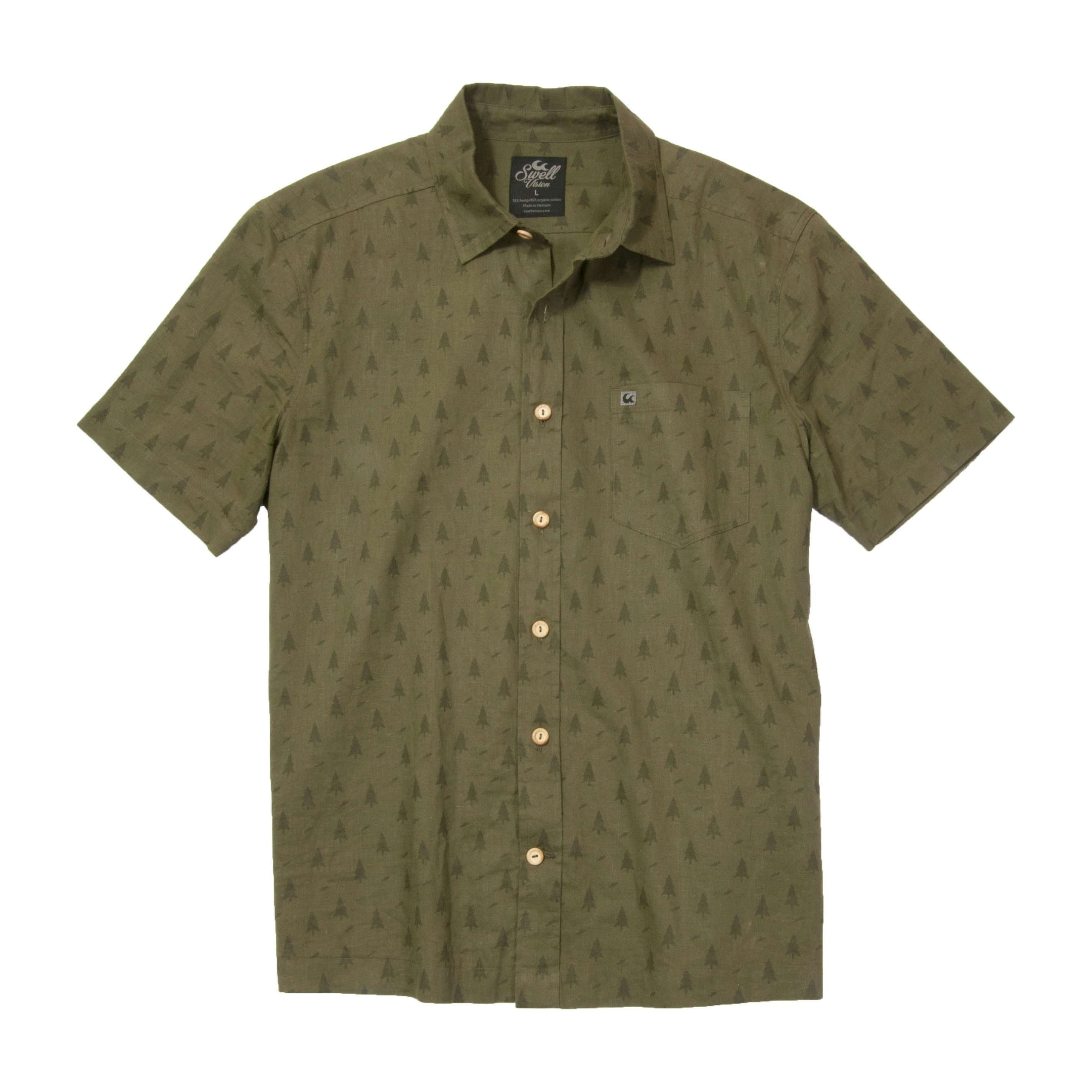 Swell vision sustainable vision bamboo fiber t shirt for Bamboo button down shirts