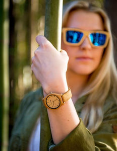 The Desert Sand Bamboo Watch - 35mm