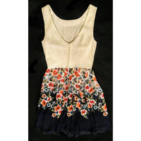 B Darlin dress  so cute!  size 3/4. -.