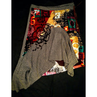 Renee Derby skirt  -  beautiful combination of colors and textures -  size 12 .