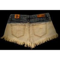 YMI jean shorts cute design size 0 #   check product