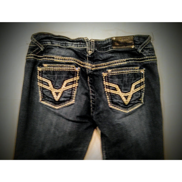 Vigoss jeans super cute size 9/10 -.