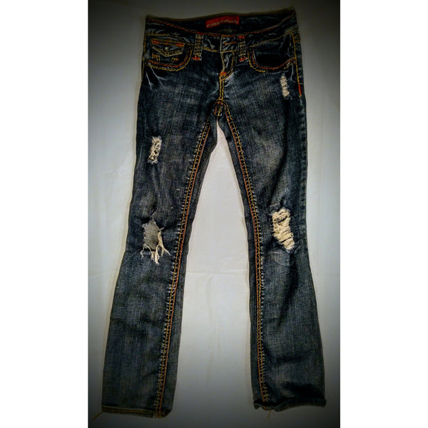 Zana Di jeans  distressed size 0 -.
