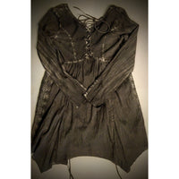 Culture hippie criss cross lace dress/top size sm (b).