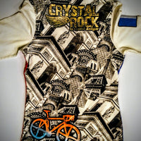 Crystal Rock jacket so unique - size large (b)