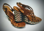 Cato sandals  very soft with cute tribal print  size 12 -.