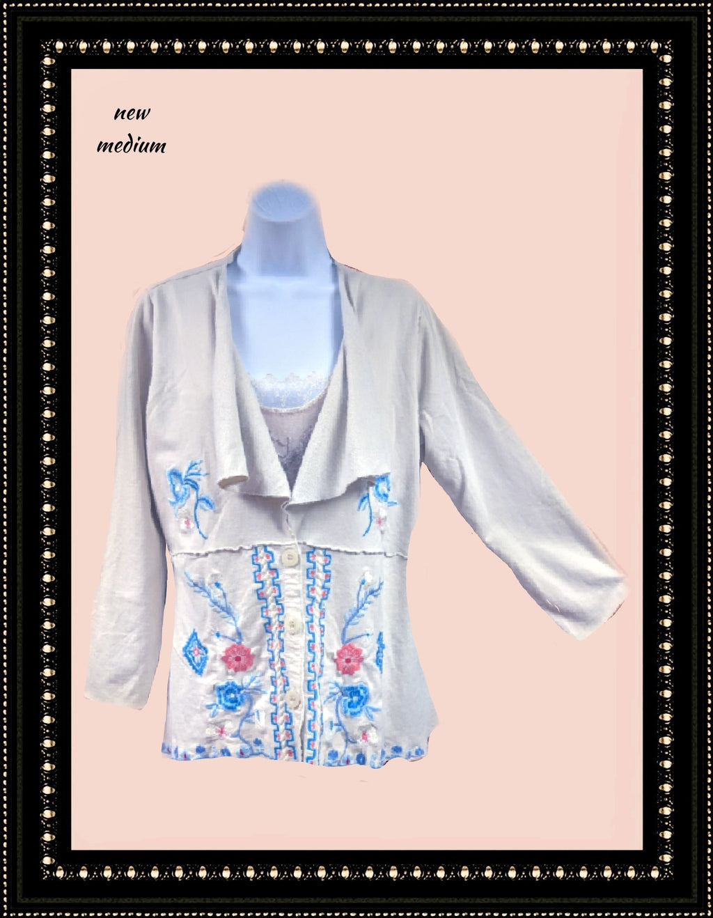 Caite top/jacket/ beautiful :