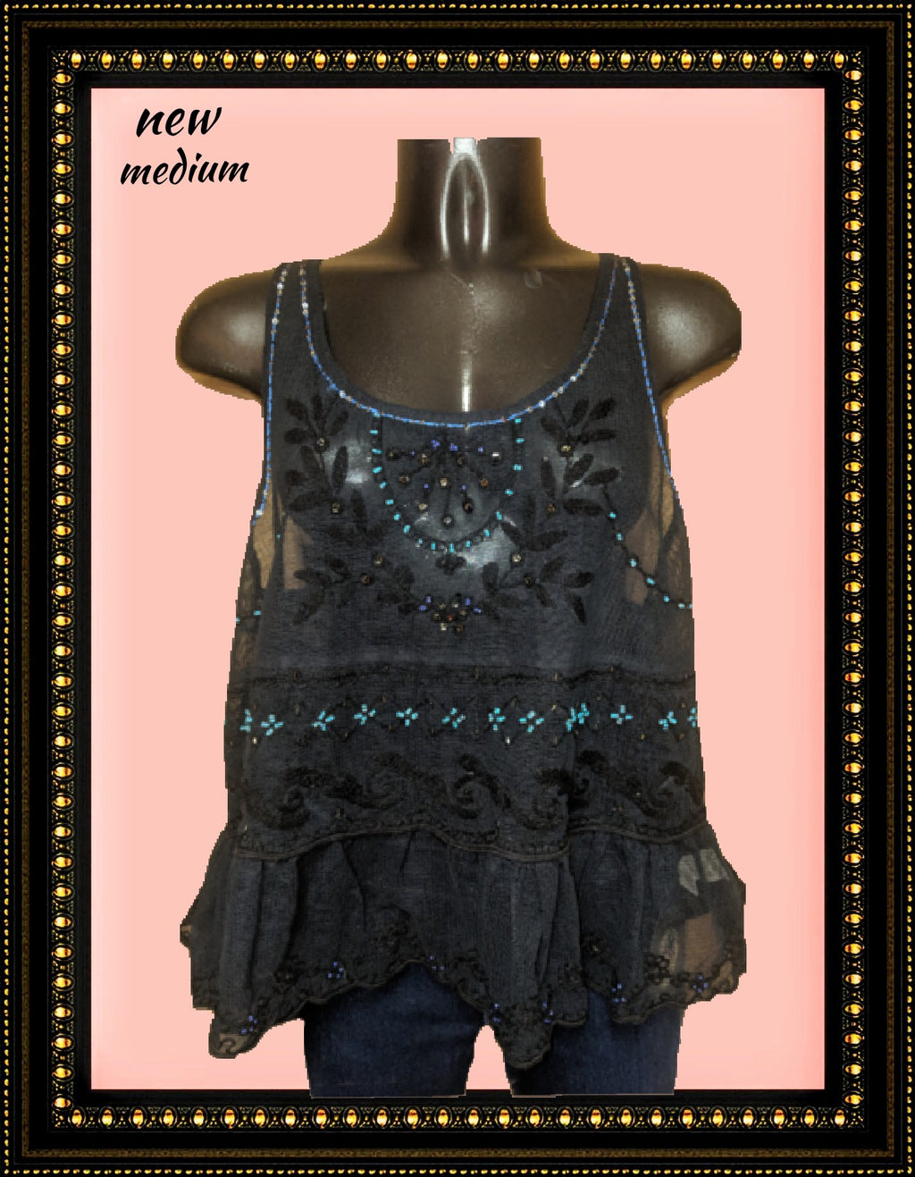Free People lacy top - awesome! size medium