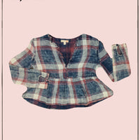 GB distressed an itd frayed top - adorable