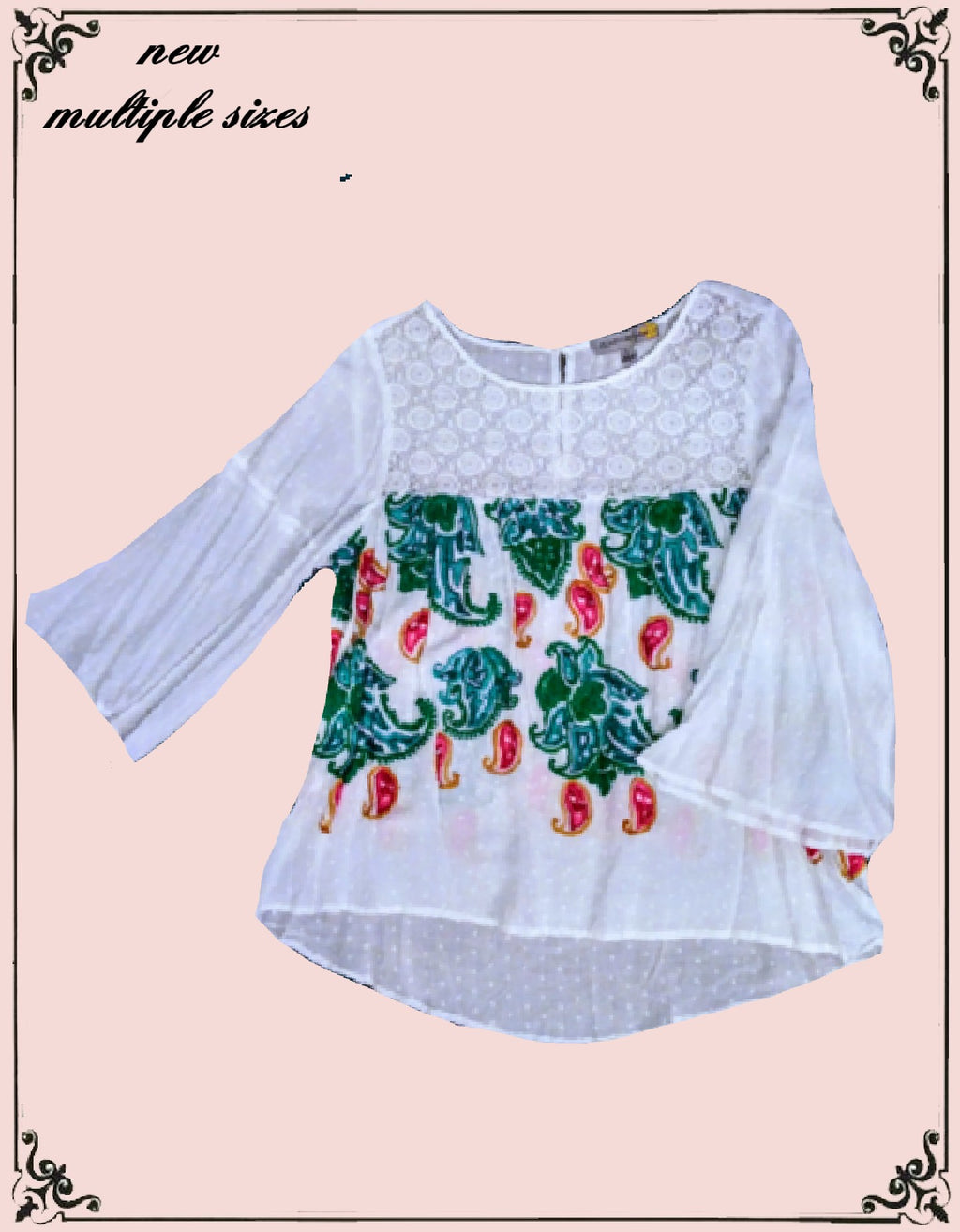 Figueroa & Flower top size large