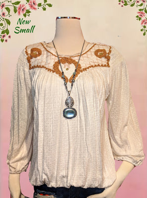 Free People top -absolutely beautiful! size small