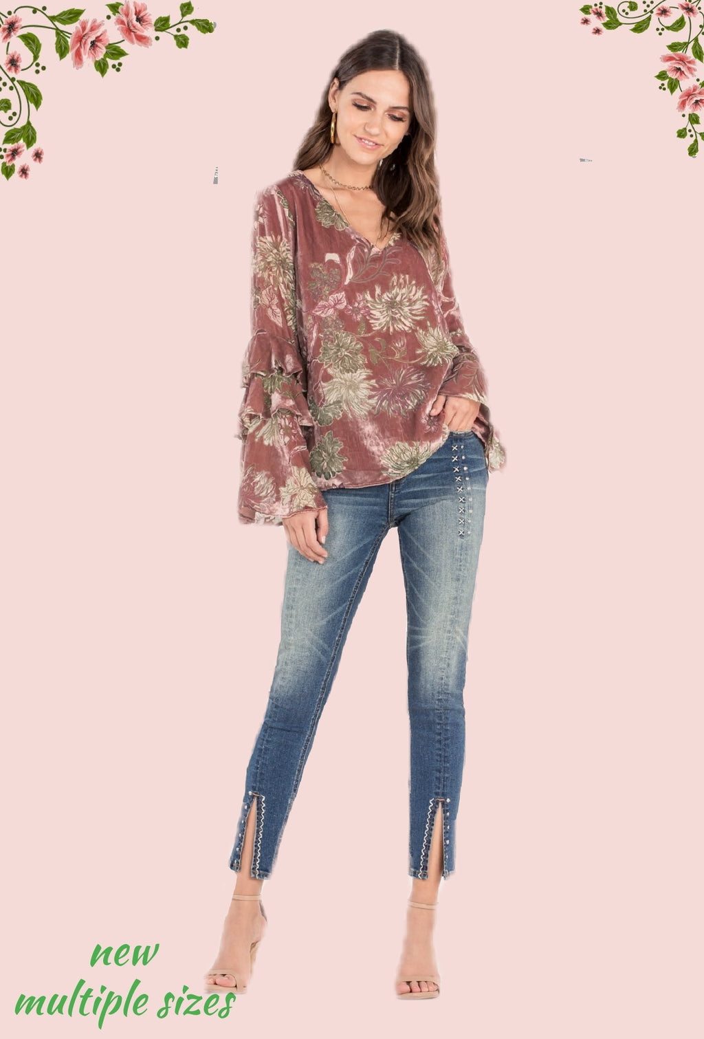 Miss Me jeans - too cute!! Size 3 and 5