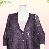 Chelsea and Violet plum layering piece  size medium