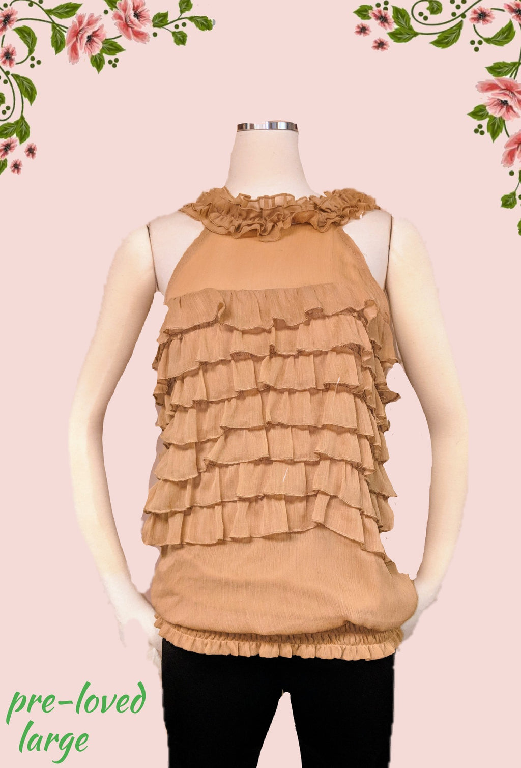 Chime top - classy! size L (b)